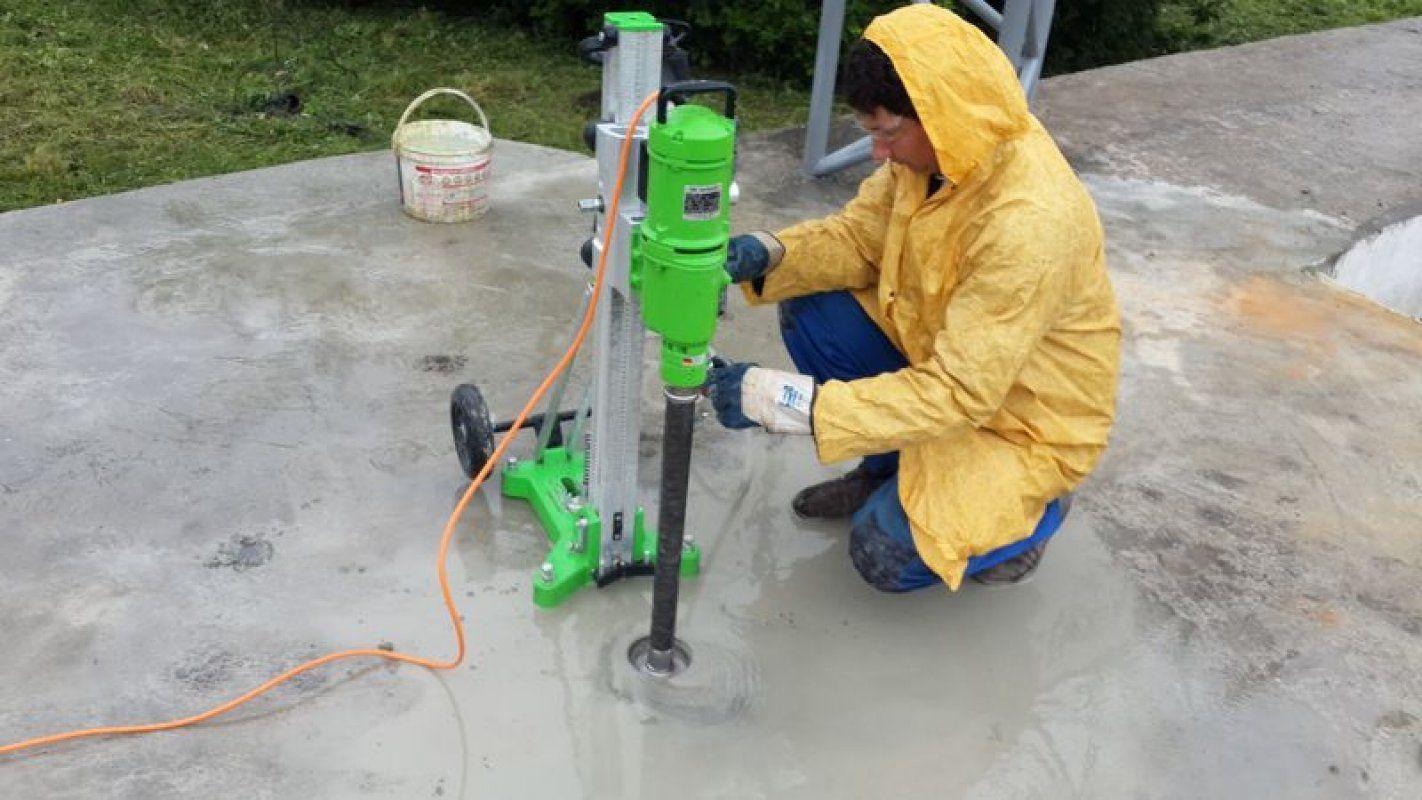Сверления бетона бетон р